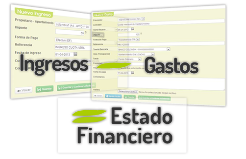 Estado financiero de la comunidad